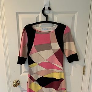 Emilio Pucci Multi Color Dress Size 8 (M)